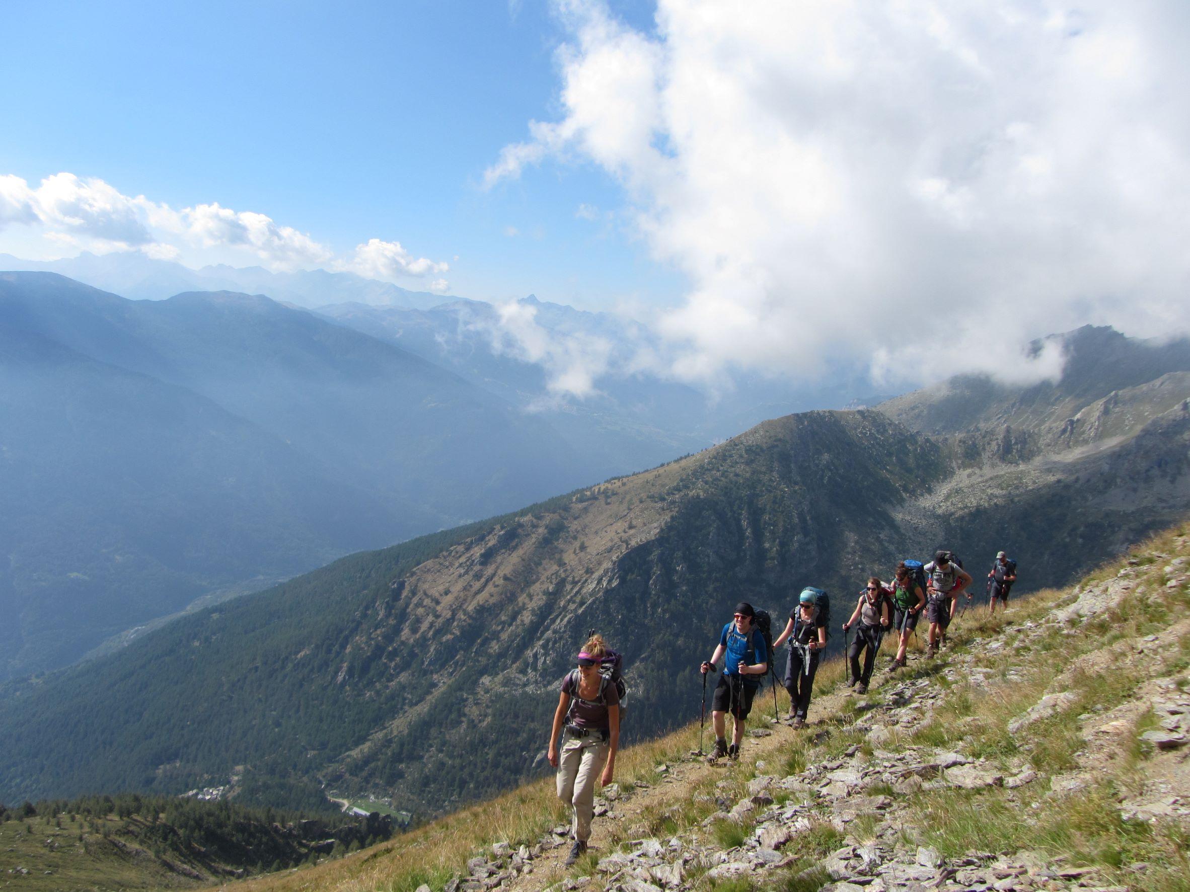 Spring reizen bergen