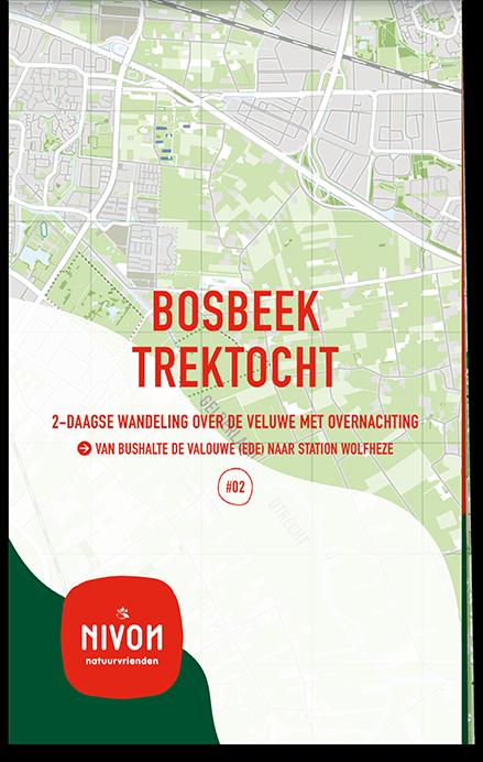 Trektochtkaart Bosbeek