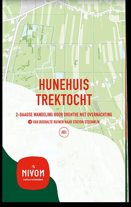 Trektochtkaart Hunehuis